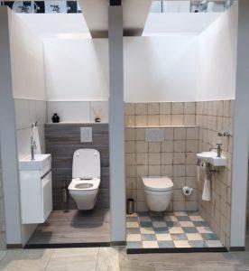 toiletten presentatie
